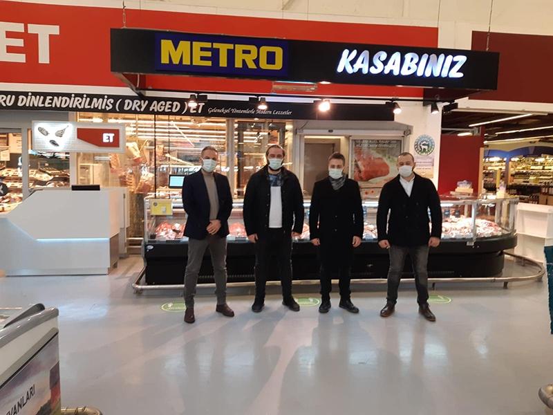 Metro Marketlerle Görüşmeler Başladı !